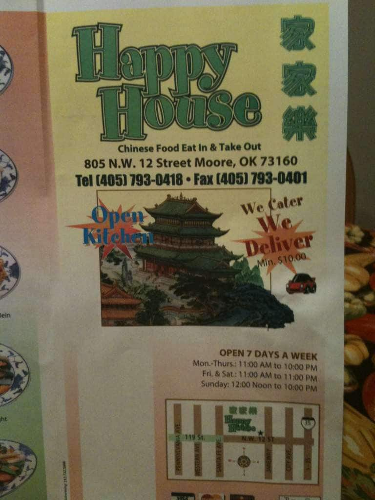 Moore (OK) United States  City new picture : ... for Happy House Chinese, Moore, Oklahoma City Zomato United States