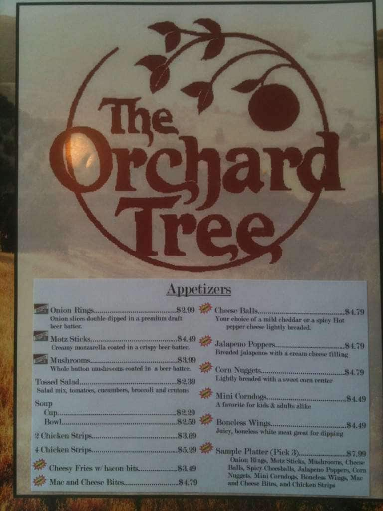 Van Wert (OH) United States  City new picture : ... Menu, Menu for The Orchard Tree, Van Wert, Lima Urbanspoon/Zomato