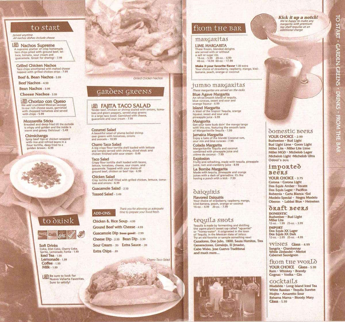 Grand Blanc (MI) United States  City new picture : ... Menu, Menu for Nuevo Vallarta, Grand Blanc, Flint Urbanspoon/Zomato