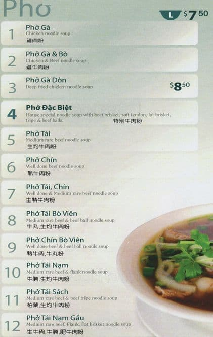 Pho King Thai Hoa