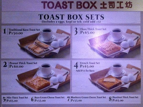 toast box history 13 reviews of toast box this is a challenge for myself - to write a quick review in a noisy environment lol it's a saturday and toast box is enjoying full house (it enjoys brisk biz at any time of the day on any day anyways).