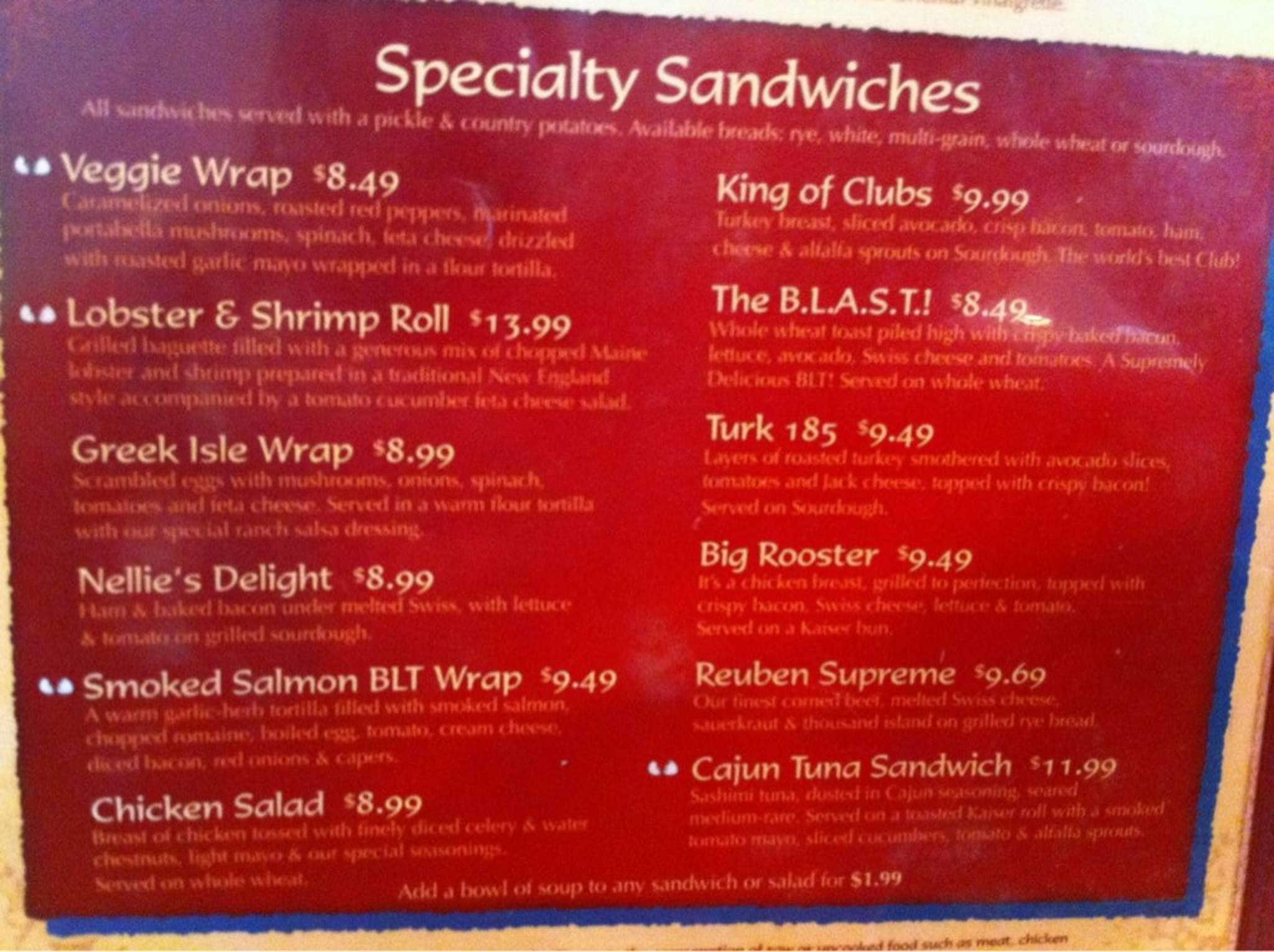 Broken Egg Cafe Pensacola Fl Menu