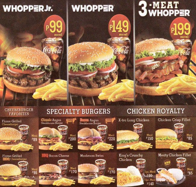Delivery Online: Burger King Philippines Delivery Online