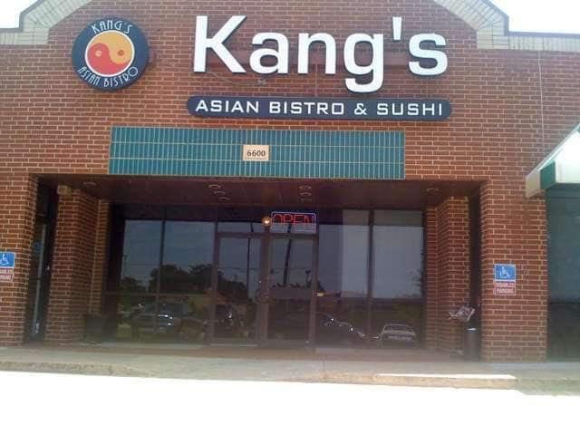 Kang 39 s asian bistro menu menu for kang 39 s asian bistro for Asian cuisine norman oklahoma